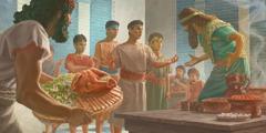 Daniel, Hanania, Mischaël, a Azaria be nga bene di bidi bi njô bôt