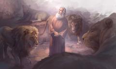 دانيال في جب الاسود