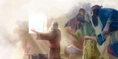 رجال غيورون يجدون دانيال يصلي قدام شباك مفتوح