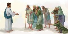 Batho ba kulang ba tla ho Jesu hore a ba folise