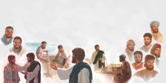 Jesu le baapostola ba hae ba 12