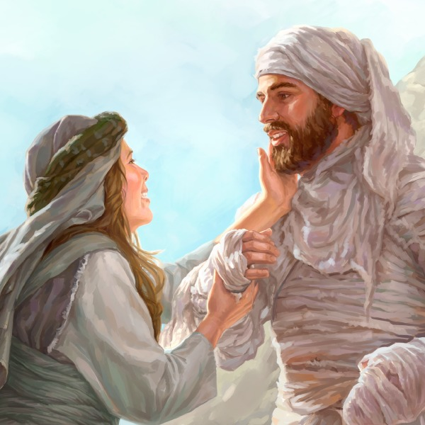 Gesù risuscita lazzaro storie della bibbia per bambini