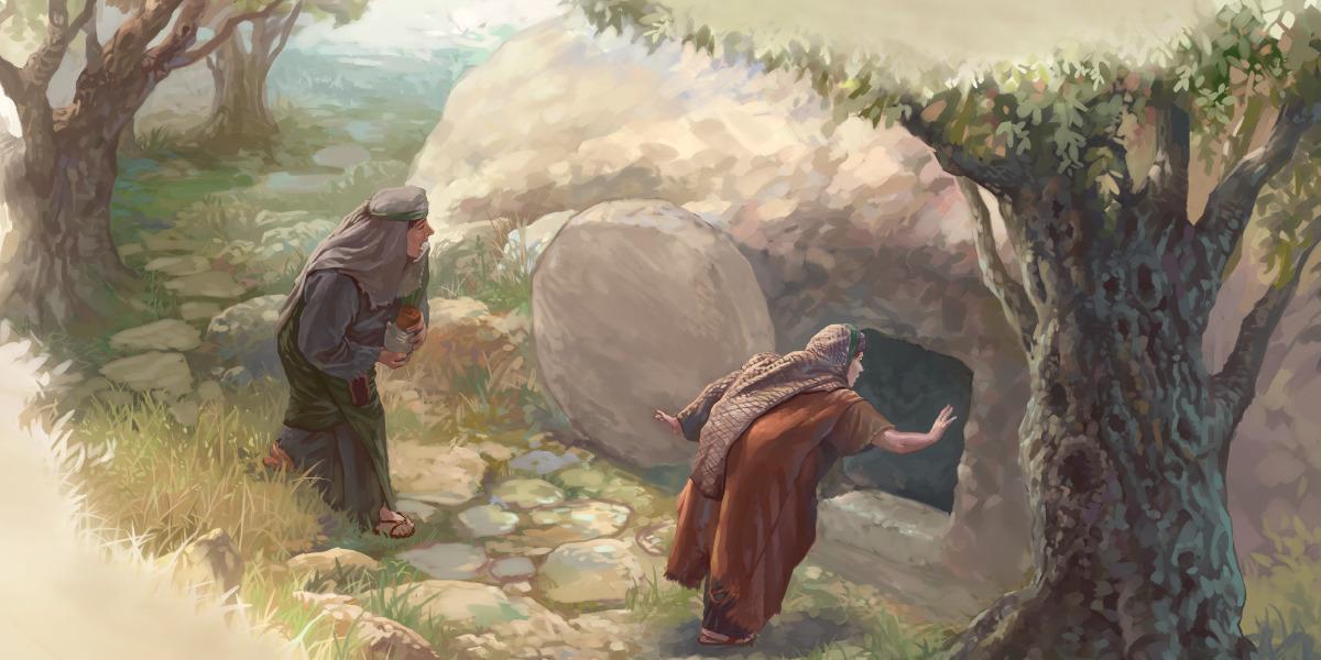 La risurrezione di gesù storie della bibbia per bambini