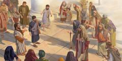 بطرس ويوحنا يبشِّران بشجاعة رغم اضطهاد الكهنة والصدوقيين