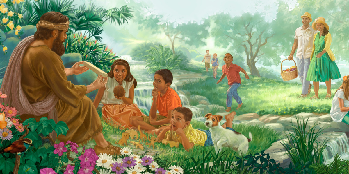 Let Your Kingdom Come The Promised Paradise Children S Bible Lessons