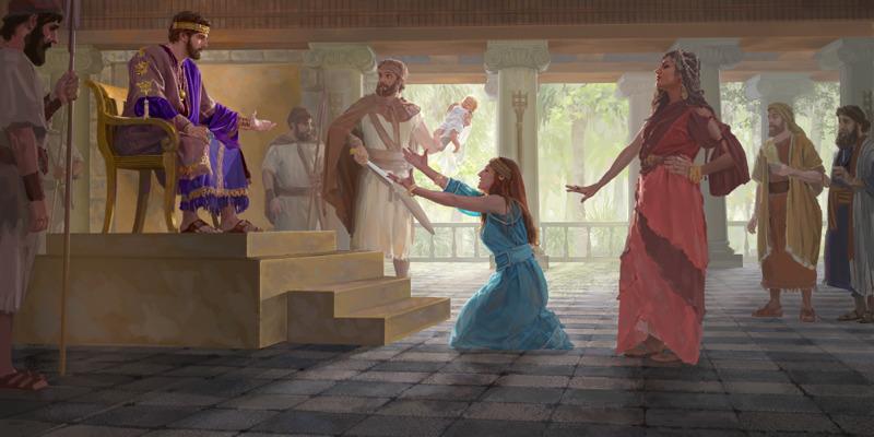 Izrael v času Davida in Salomona — Watchtowerjeva SPLETNA