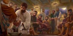 Jesosy, manasa tombokini-apostoliny rey