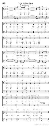 Lagu Pujian Baru