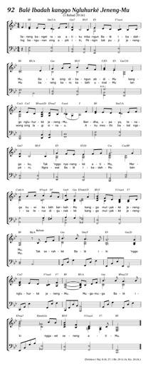 Balé Ibadah sing Nyandhang Asma-Mu