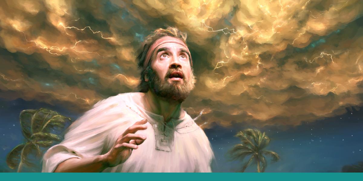 Ezekiel sees a vision