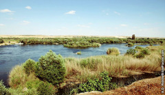 The Euphrates River in the region near Carchemish.