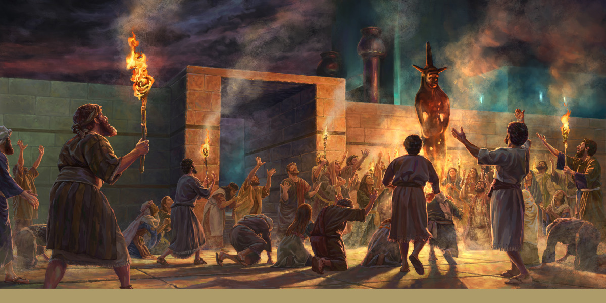 The Evil, Detestable Things at God's Temple'