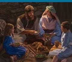 Một gia đình cử hành Lễ Vượt Qua
