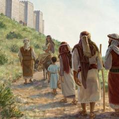 Wayahudi wanaorudi watembea kuelekea Yerusalemu