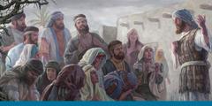 Os judeus em Babilónia ficam arrasados quando sabem que Jerusalém e o templo foram destruídos