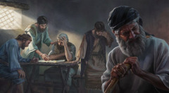 Para tawanan memperhatikan denah bait yang Yehezkiel lihat, dan orang-orang yang tulus menjadi malu