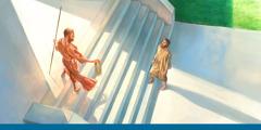 Yehezkiel bertemu dengan malaikat yang tampak berkilau seperti tembaga