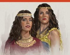 Hai chị em gái điếm là Ô-hô-la và Ô-hô-li-ba