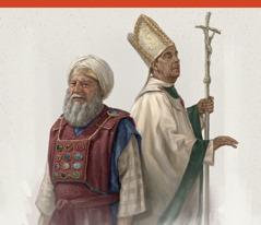 Một thầy tế lễ thượng phẩm thời Y-sơ-ra-ên xưa và một người thuộc hàng giáo phẩm thời hiện đại