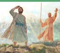 Thiên sứ chỉ cho Ê-xê-chi-ên thấy phần đất thừa kế