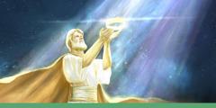 Chúa Giê-su cởi vương miện và giao lại Nước Trời cho Đức Giê-hô-va