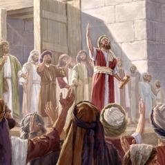 Homens fiéis servem como pastores para o povo