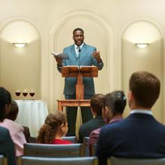 Muistojuhlaa vietetään valtakunnansalissa