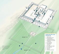 Biểu đồ cho thấy những đặc điểm chính của đền thờ trong khải tượng của Ê-xê-chi-ên