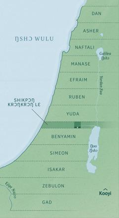 Map ni miitsɔɔ shikpɔŋ krɔŋkrɔŋ lɛ kɛ bɔ ni ajara shikpɔŋ lɛ ahã wekui 12 lɛ