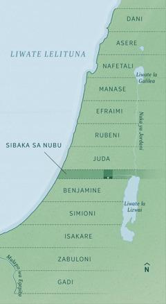 Mapa yebonisa likalulo zene abezwi masika a 12 ni sibaka sa nubu