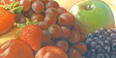 Vários tipos de fruta