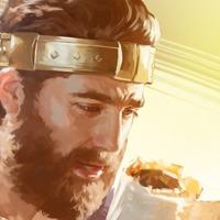 Ο βασιλιάς Ιωσίας διαβάζει έναν ρόλο