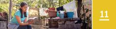 11.lekcia: Žena si urobila prestávku počas domácich prác ačíta si Bibliu