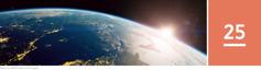 Lección 25. LaTierra, vista desde el espacio.