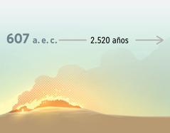 En el año 607 antes de nuestra era, la ciudad de Jerusalén en llamas. Después, transcurre un periodo de 2.520años.