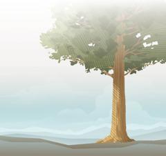 Et enormt tre.