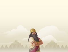 Den stolte kong Nebukadnesar.