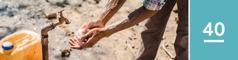 40.lekcia: Muž si umýva ruky mydlom avodou