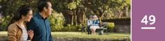 49.lekcia: Mladý manželský pár pozoruje starších manželov, na ktorých je vidno, že sú spolu šťastní