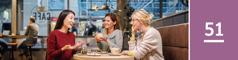 51.lekcia: Tri ženy vpríjemnom rozhovore vkaviarni