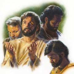Jesus og hans disciple beder