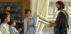 Χριστιανοί του πρώτου αιώνα λαβαίνουν οδηγίες