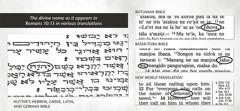 Nama ilahi dalam teks asli Alkitab