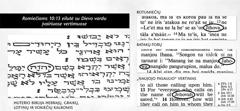 Dievo vardas Biblijos originalo tekstuose
