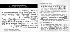 Jumala nimi Piibli algtekstides