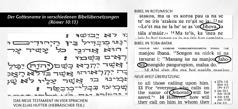 Der Gottesname in Originalmanuskripten