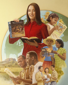 Jehovah's Witnesses spreading Bible truth around the world