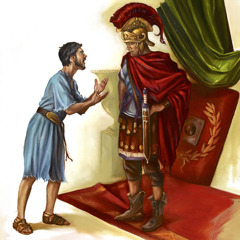 Paul's nephew speaking to Claudius