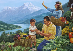 Срећна породица у Рају