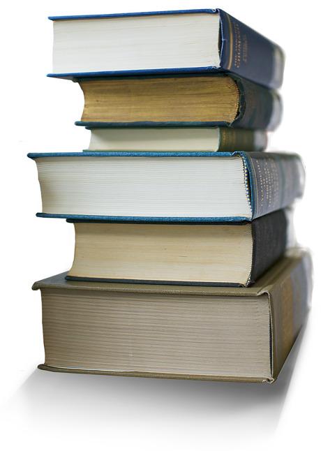 Egy könyvhalom